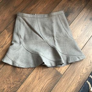 Super Cute J. Crew Wool Flare Skirt